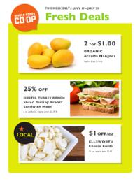 Whole Foods Co-op Flyer